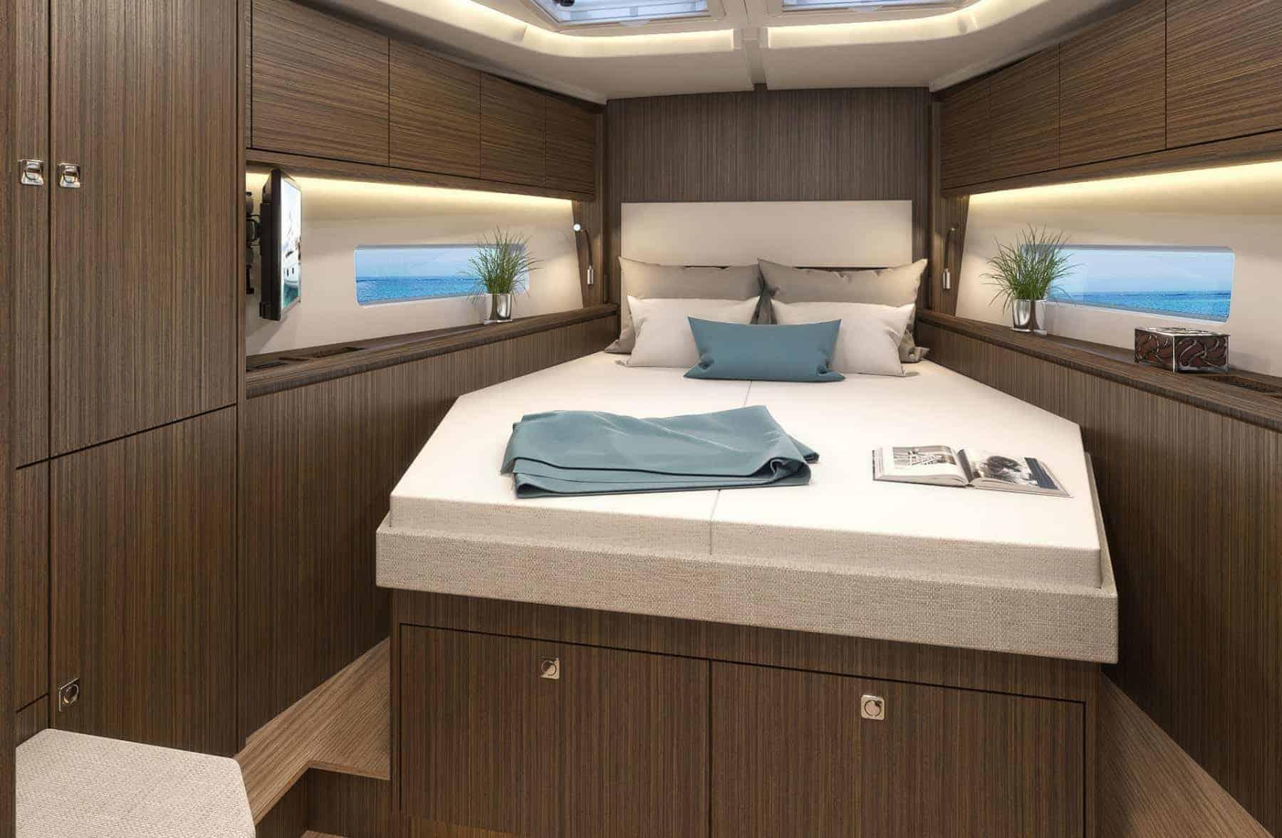 Bavaria C45 interior cabin 3