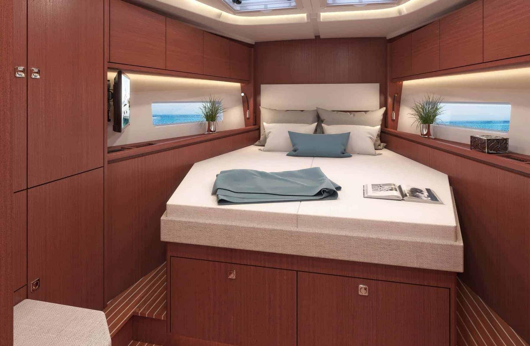 Bavaria C45 interior cabin 4