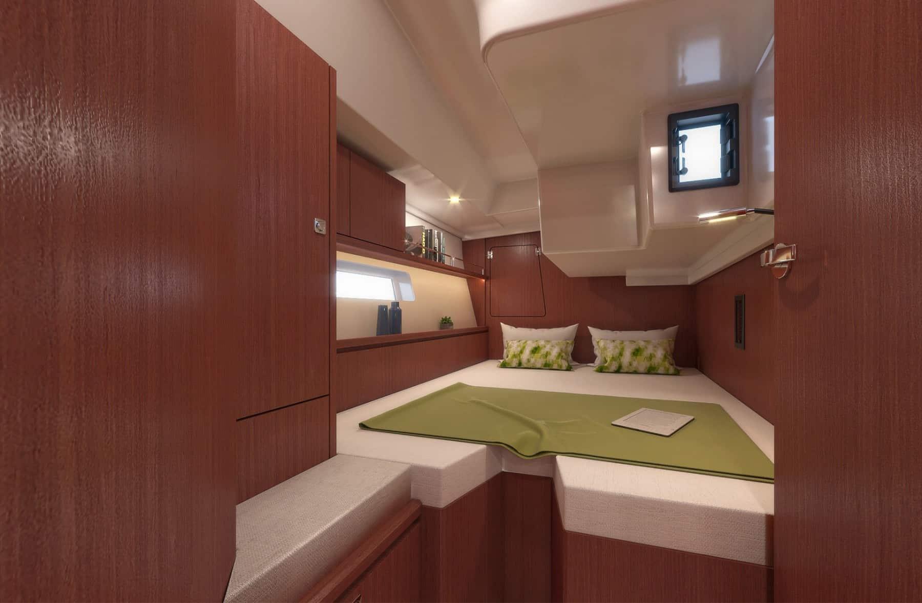 Bavaria C45 interior cabin 5