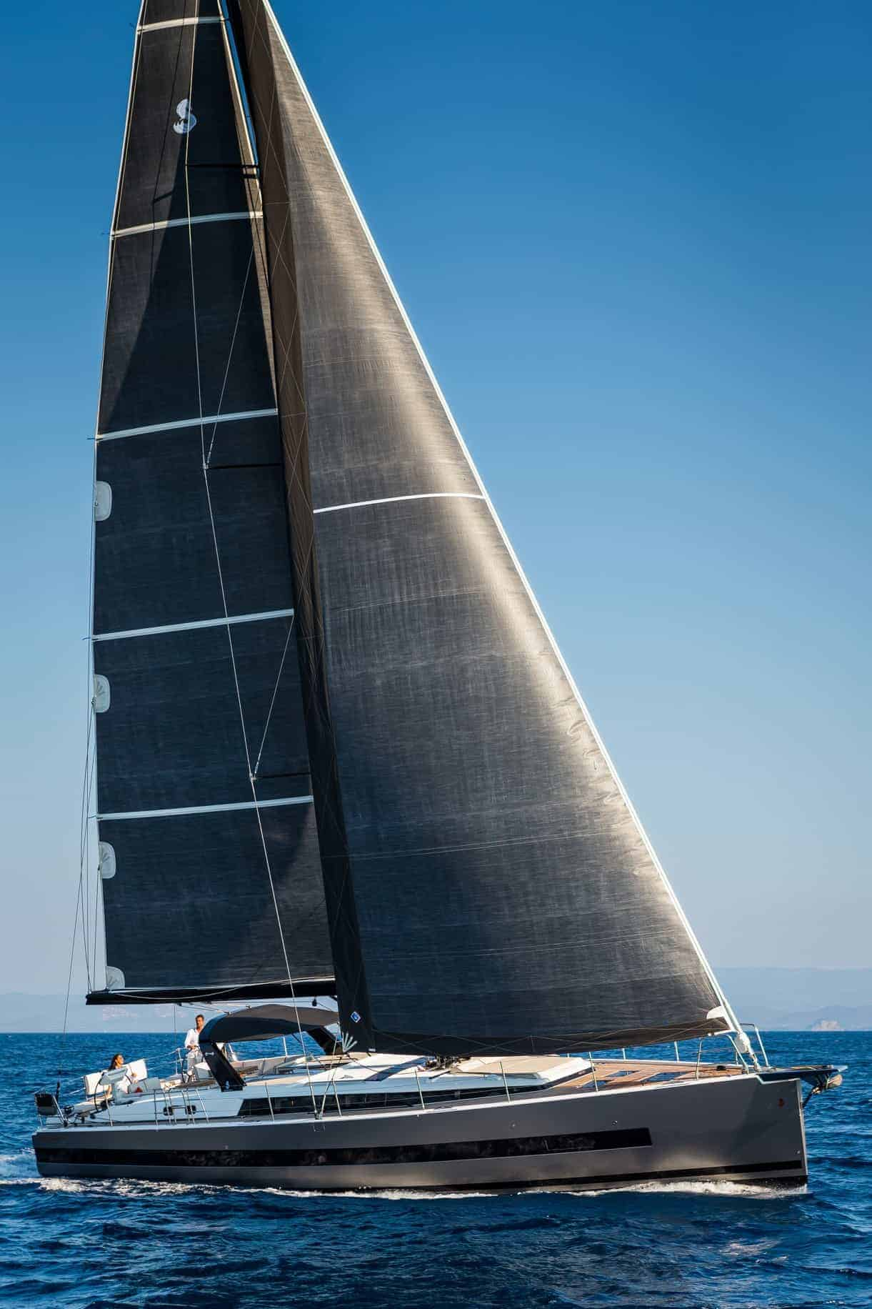 Beneteau Yacht 62 sailing up wind
