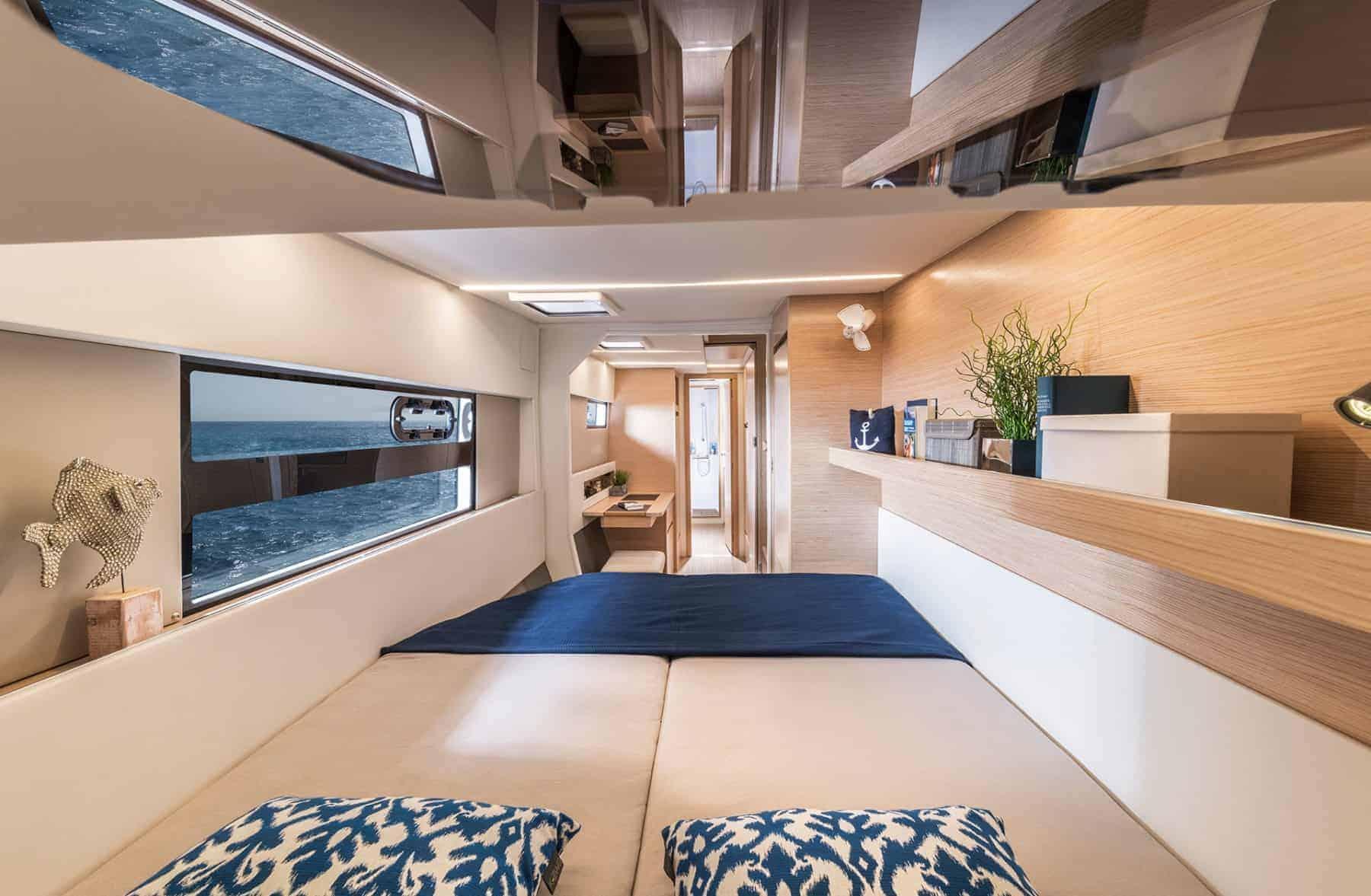 Bavaria-Nautitech-40-open-interior-cabin-2-charter-ownership-yacht