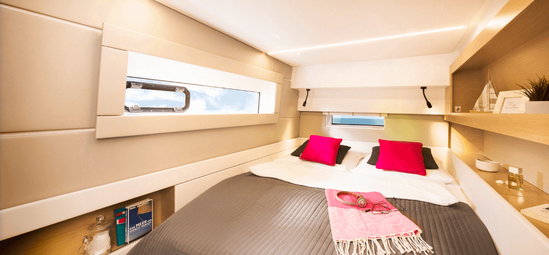 Bavaria-Nautitech-46-interior-cabin-2-charter-ownership-yacht