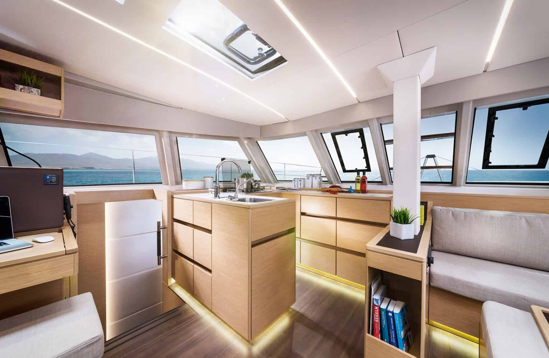 Bavaria-Nautitech-46-interior-galley-1-charter-ownership-yacht