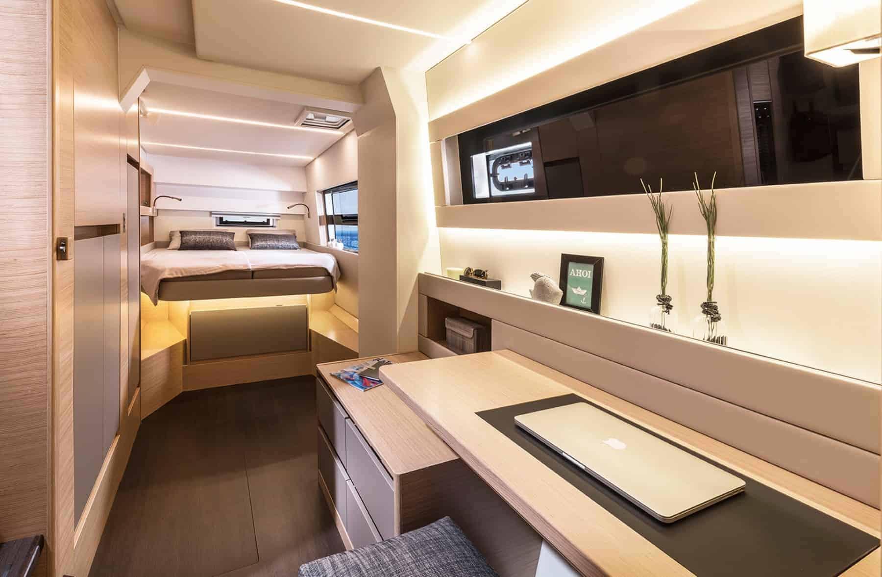 Bavaria-Nautitech-47-power-interior-cabin-1-charter-ownership-yacht