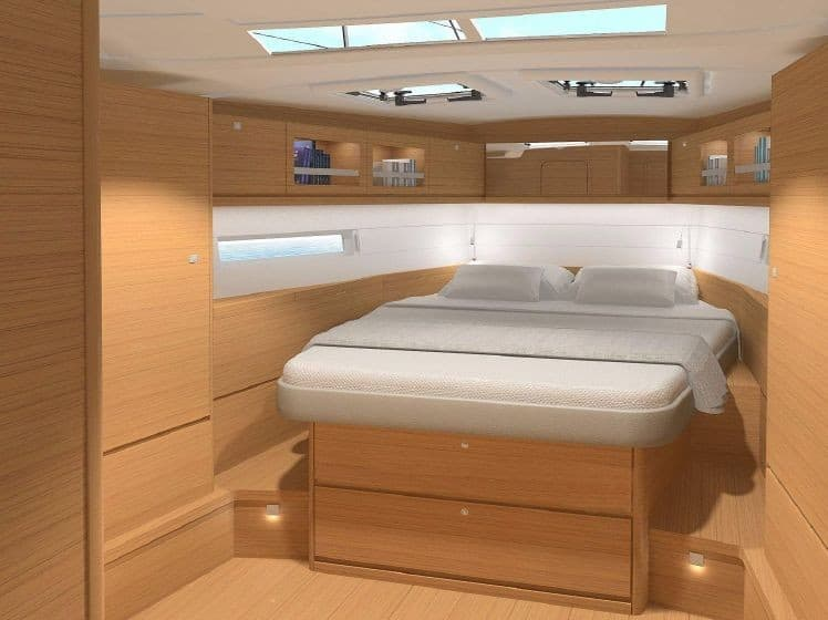 Dufour Grand Large 520_master cabin