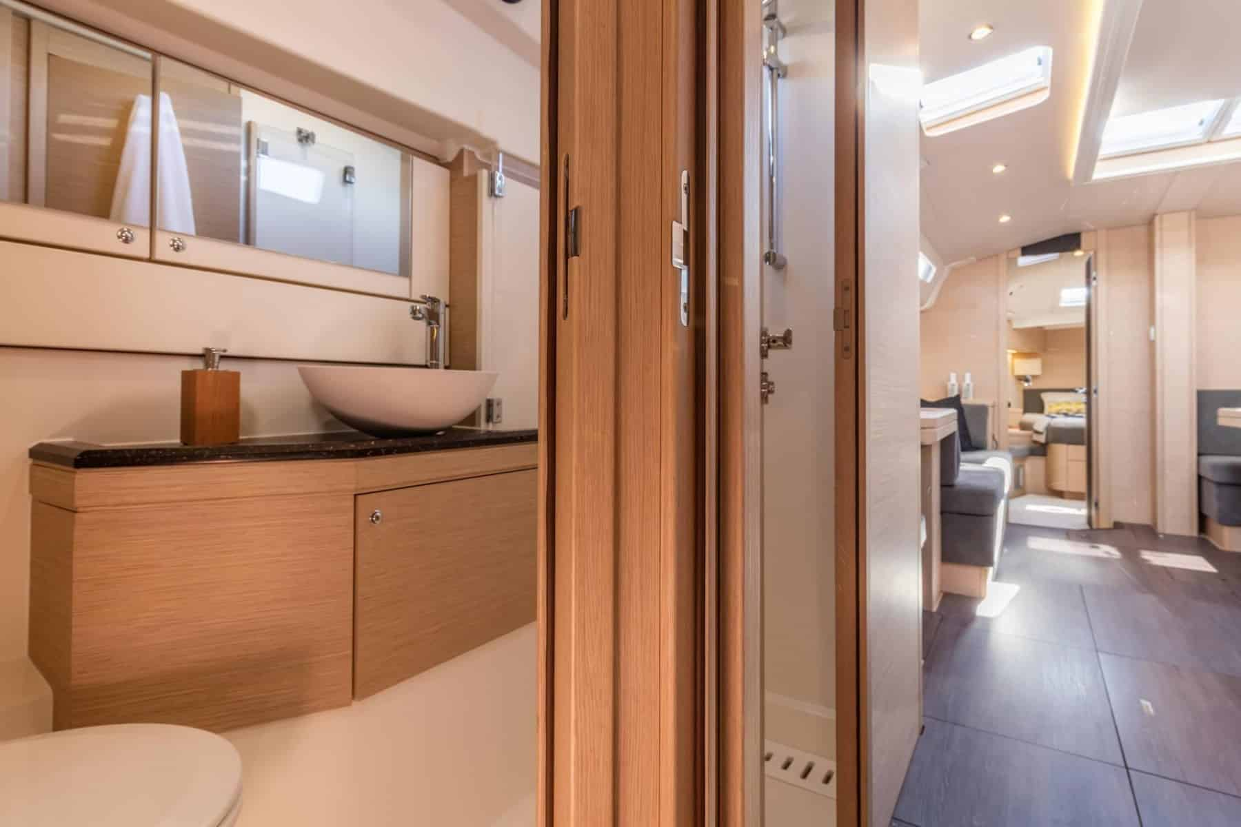 Jeanneau-51-interior-head-2-charter-ownership-yacht