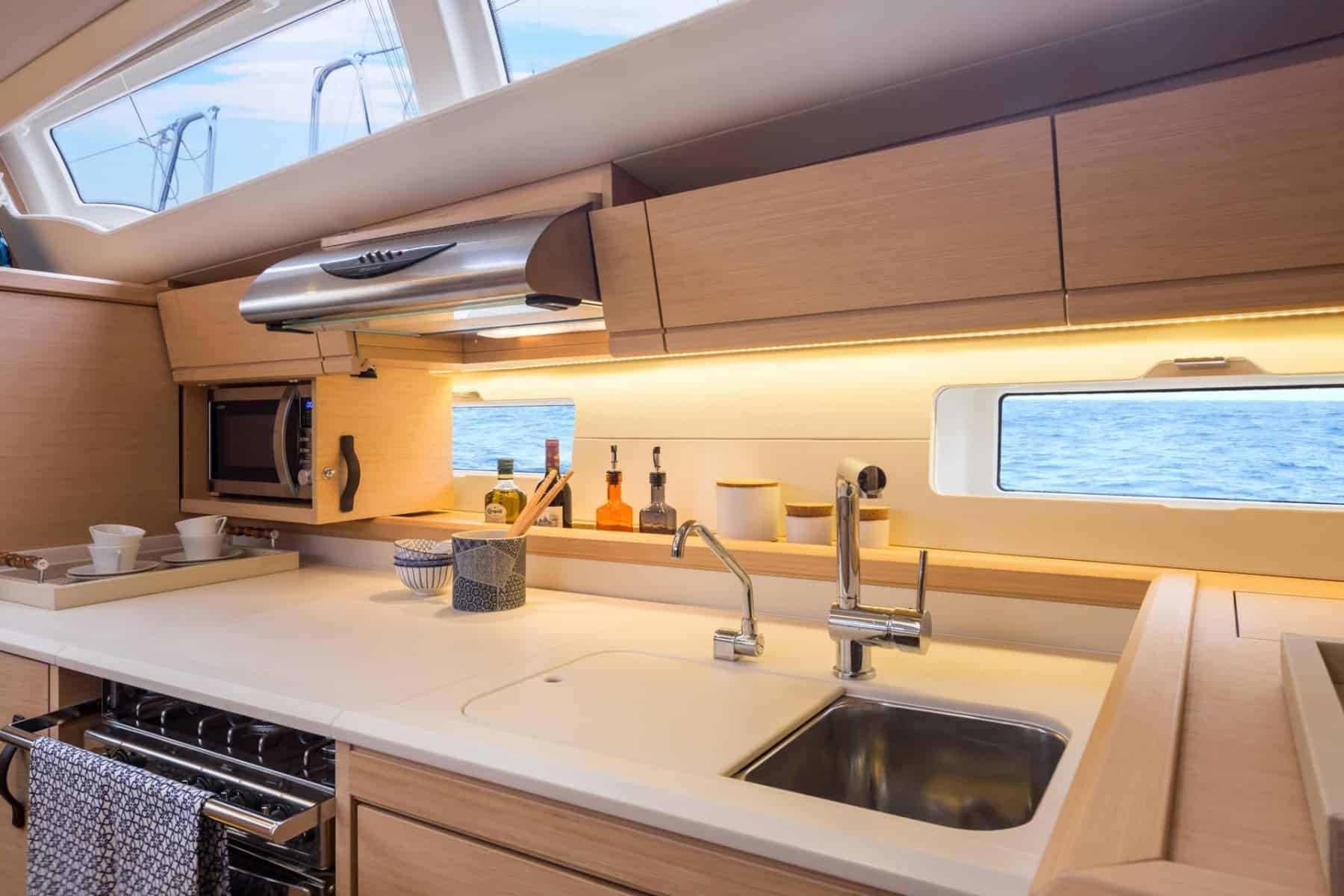 Jeanneau-54-interior-galley-2-charter-ownership-yacht