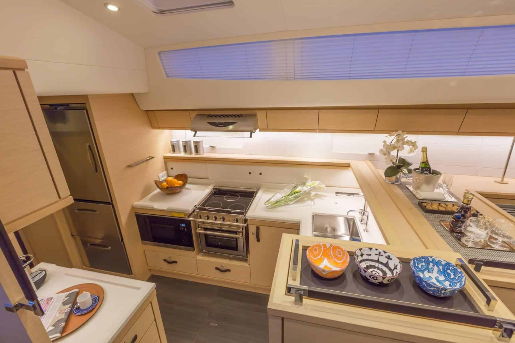Jeanneau-64-interior-galley-1-charter-ownership-yacht