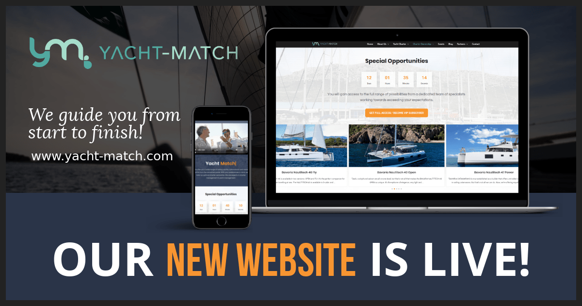 New Yacht-Match.com is live!