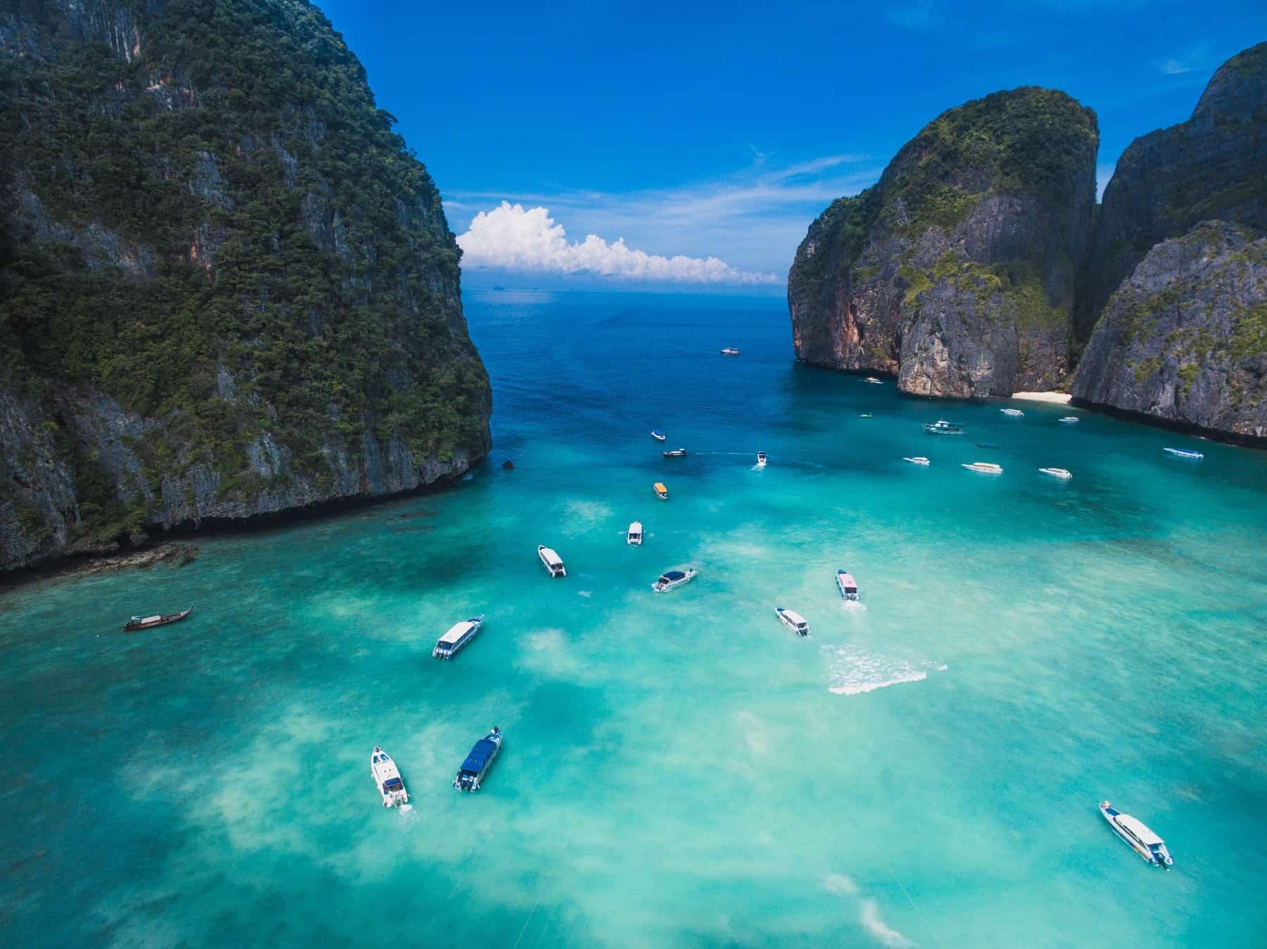 Top sailing destinations