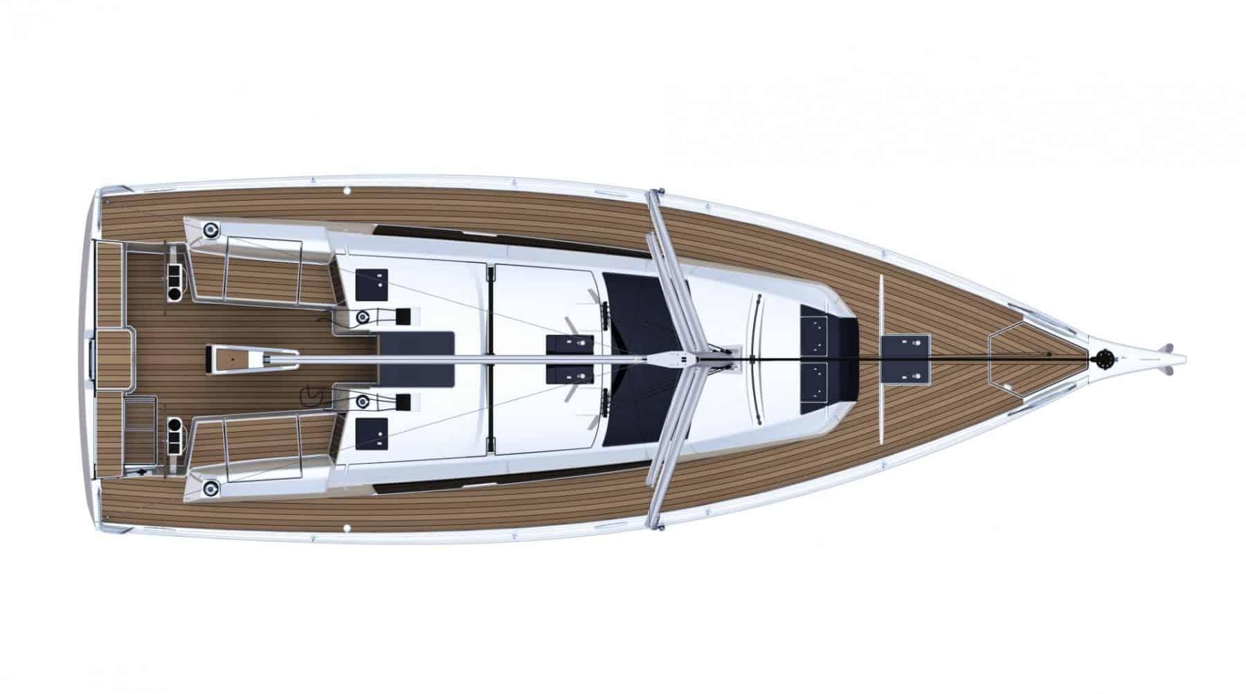 dufour 390 deck layout