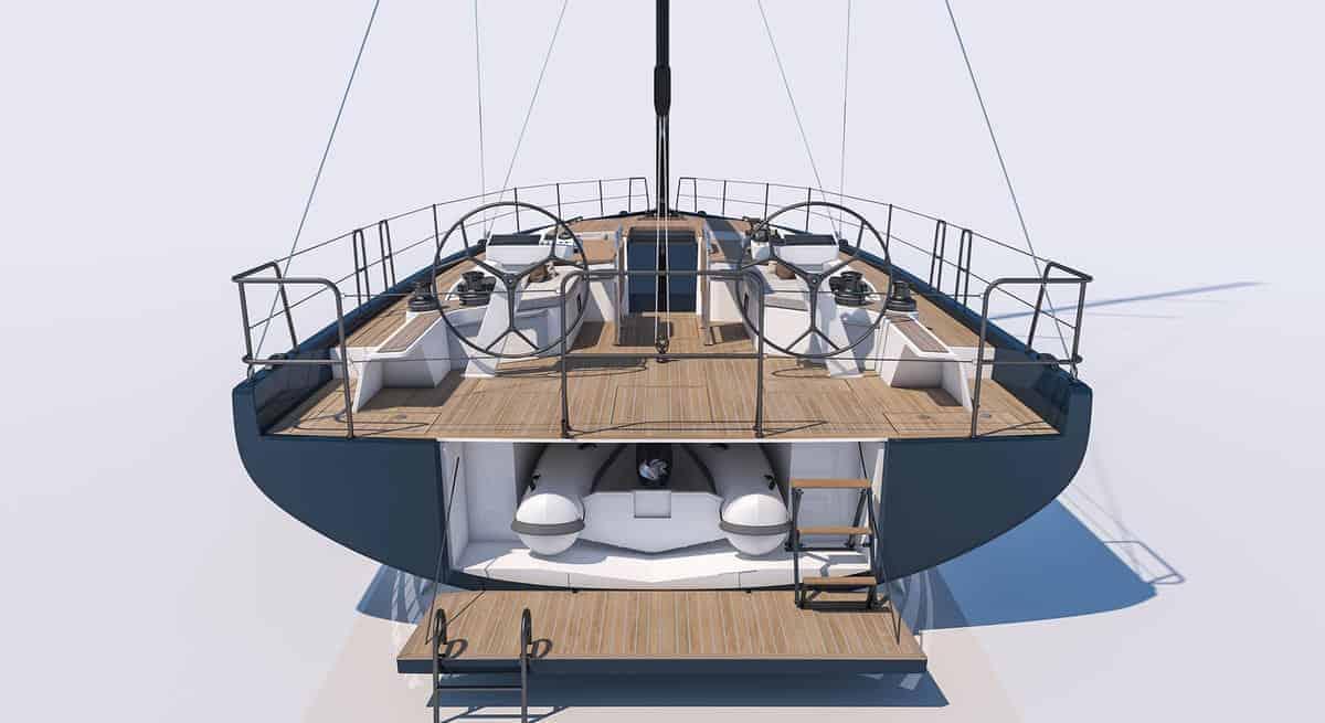 Beneteau First 53 Yacht tender