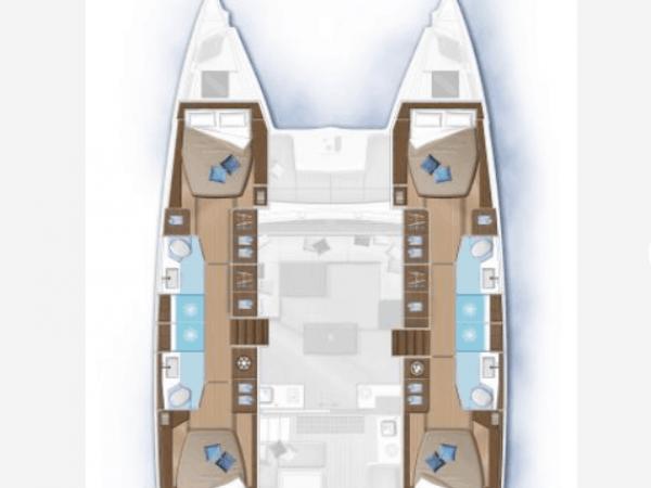Lagoon 50 plans