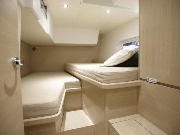 Solaris 50 Port aft cabin