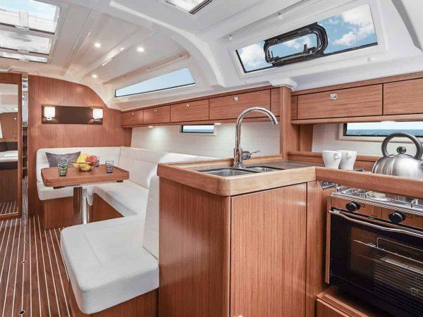 Bavaria-Cruiser-41-interior-galley-charter-ownership-yacht