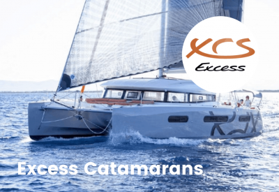 Excess Catamarans with logo