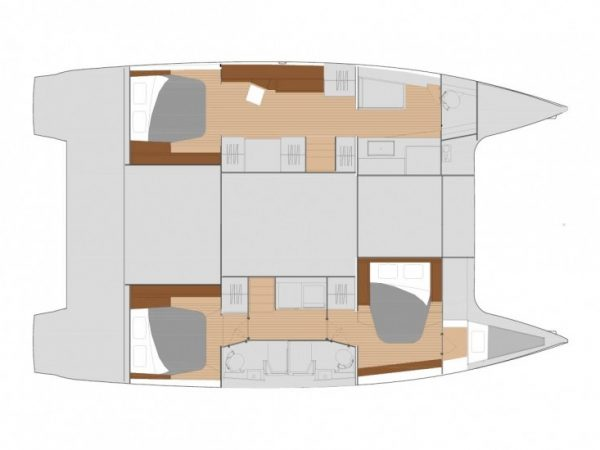 Fountaine Pajot Saona 47 layout1