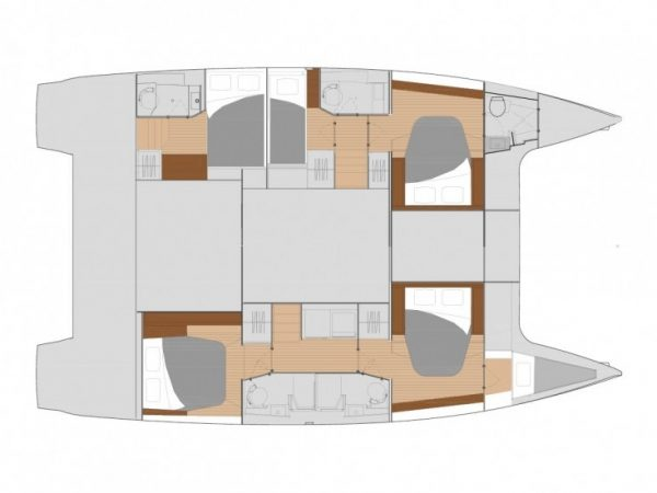 Fountaine Pajot Saona 47 layout2