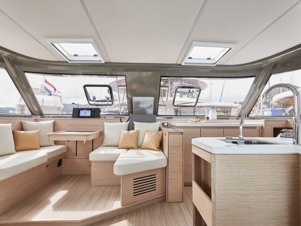 Bavaria-Nautitech-40-open-layout-interior-saloon-charter-ownership-yacht