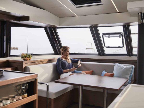 Bavaria-Nautitech-46-fly-interior-galley-2-charter-ownership-yacht