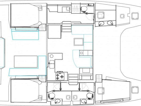 Bavaria-Nautitech-46-Fly-layout-2-charter-ownership-yacht