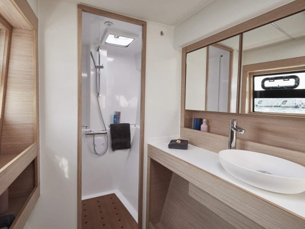 Bavaria-Nautitech-40-open-interior-head-1-charter-ownership-yacht