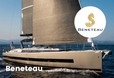 Beneteau Logo with boat