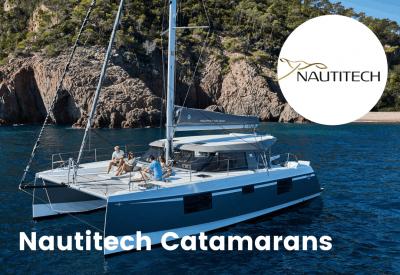Nautitech Catamarans logo with boat