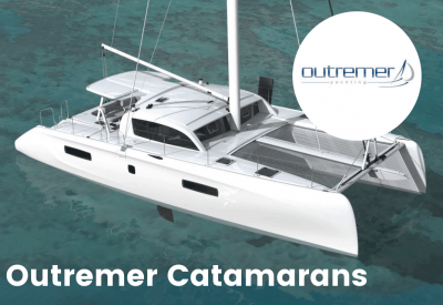 outremer catamarans and logo