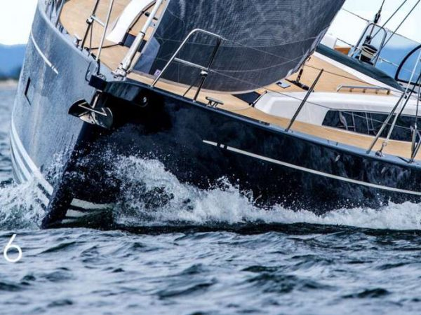 X-Yachts X46 front sailing charter