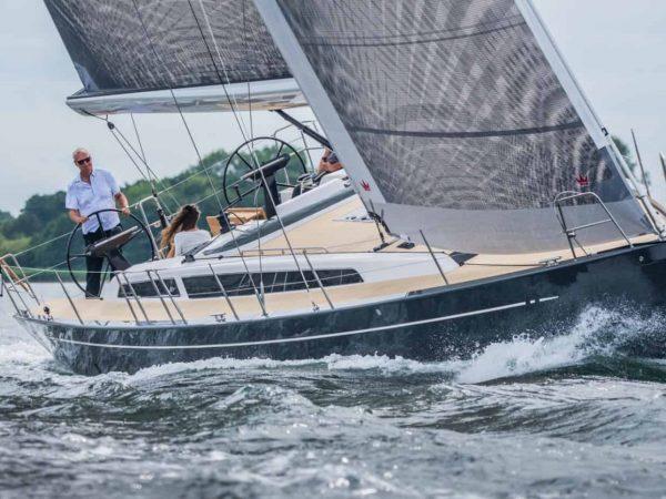 X-Yachts X46 sailing management