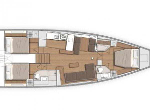 beneteau first 53 layout