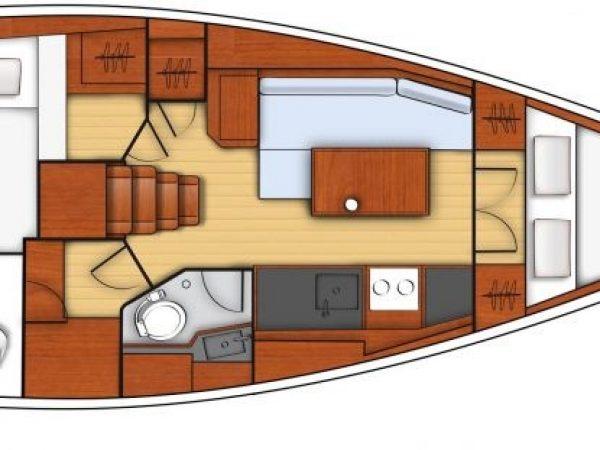 beneteau oceanis 35.1 layout3