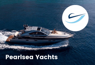 pearlsea yacht and logo